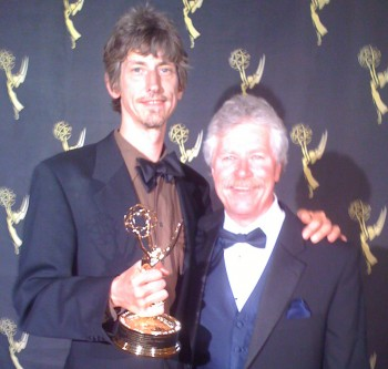 Charlie Canfield and David L Brown 2009 Emmy