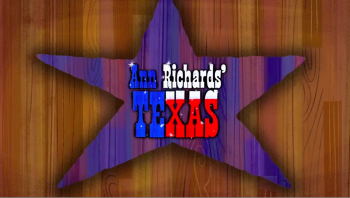 Ann Richard's Texas title image