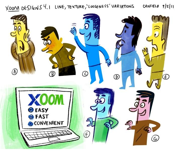 'Xoom' designs .2